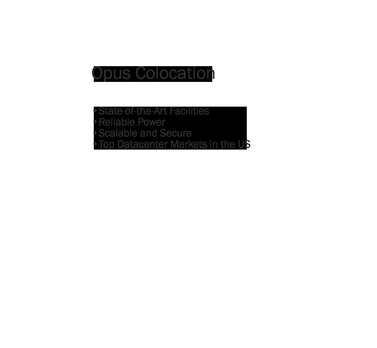 Opus Colocation