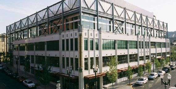Opus Interactive LEED Silver Data Center located in downtown Portland Oregon