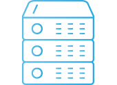 Icon for Opus Interactive's enterprise colocation services in Western, Eastern, and Central regions.