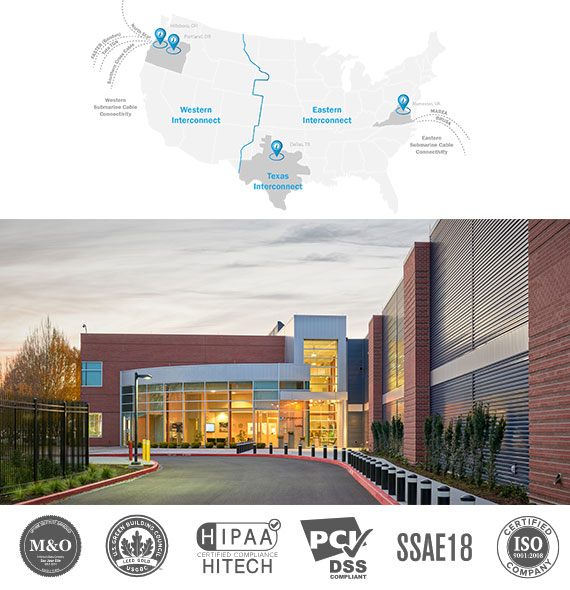 Western Region Data Centers and Colocation with Opus Interactive includes flexibility, connectivity, and the utmost efficiency.