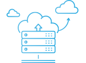 Icon for Opus Interactive's tailored hybrid and multi-cloud solutions
